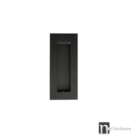 100mm-black-flush-pull