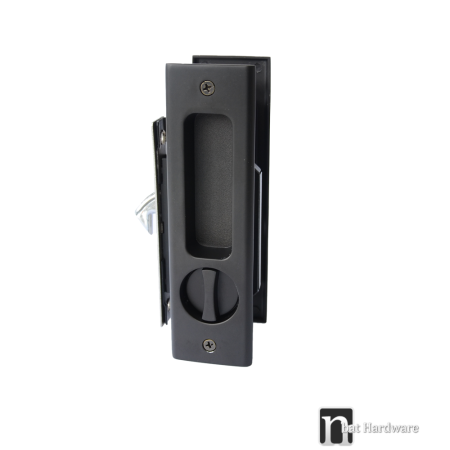 Lock and handle cavity sliding door sets - Black Door Hardware Nbat Hardware