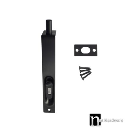 150mm-black-door-bolt