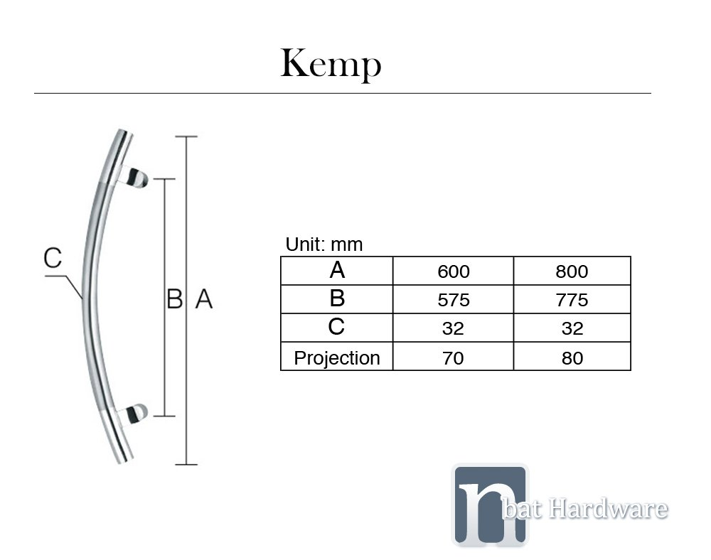 Kemp Door PullHandle