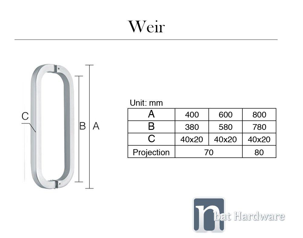 Weir DoorP ull Handle