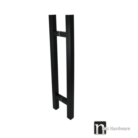barron matt black door pulls