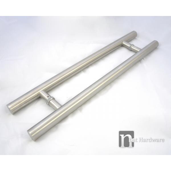 Entry door pull handle pair 800mm bisset series matt for 1180 2 door pull
