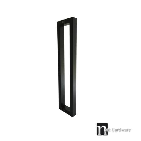black square door pulls