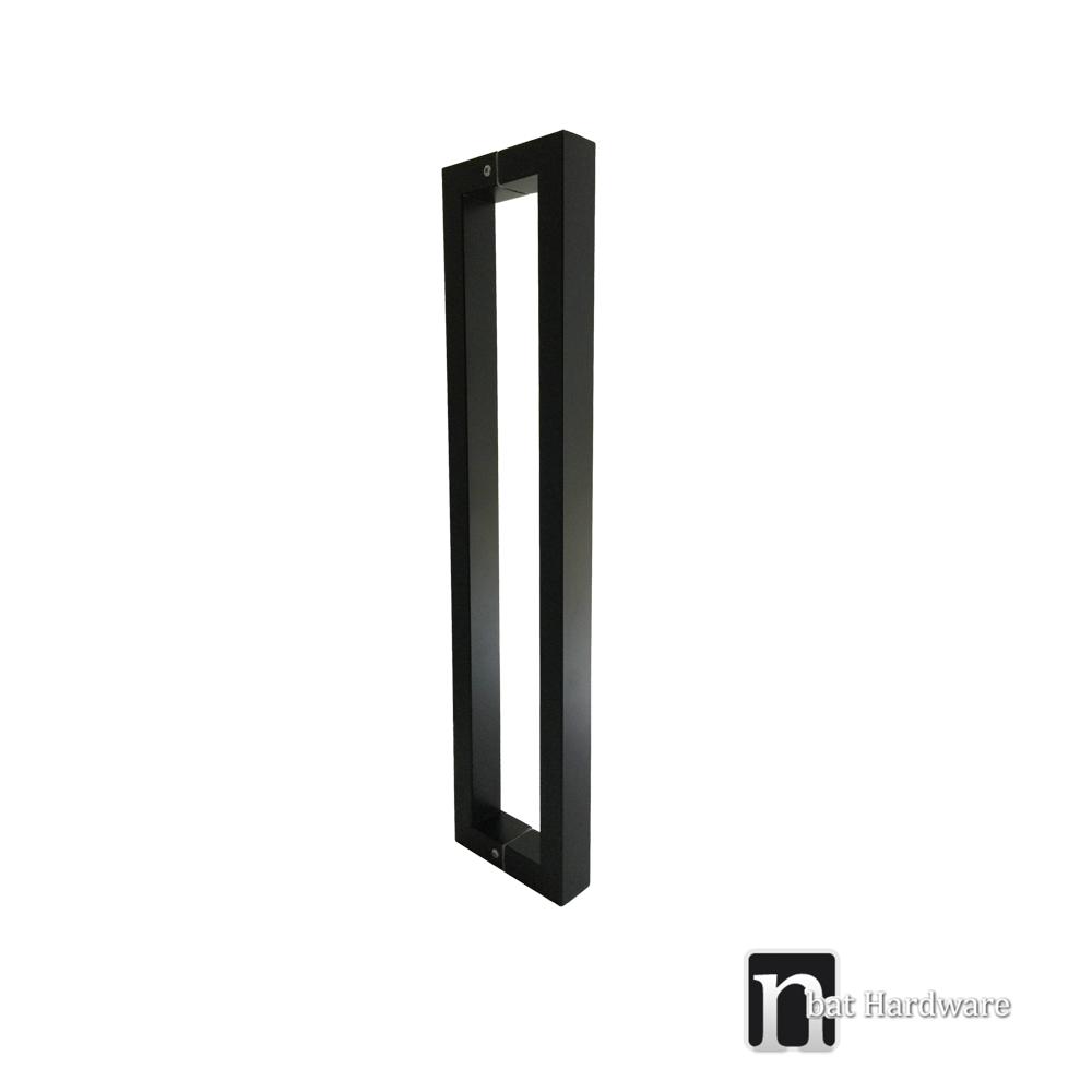 Matt Black Entry Door Pull 600mm Gilchrist Nbat Hardware