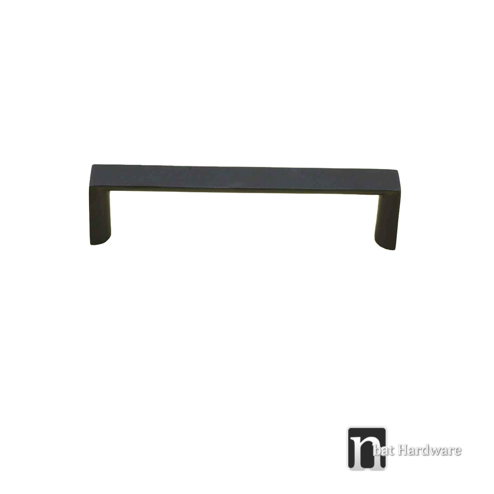 96mm matt black kitchen handles series nbat hardware