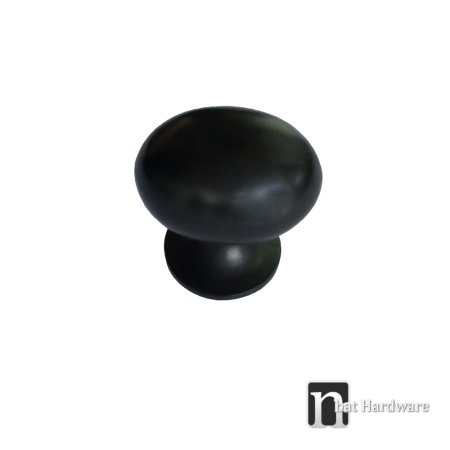 matt black kitchen knob