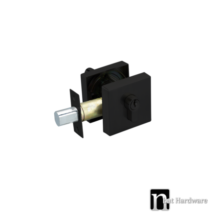 square double cylinders deadbolt