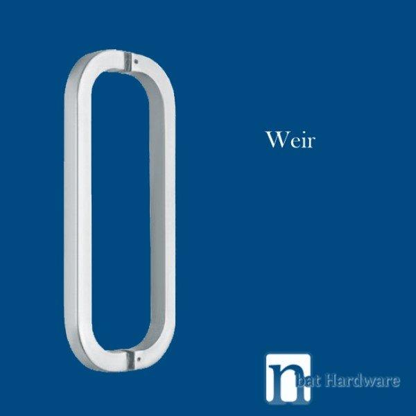 Weir Series Entry Door Pull 600mm Pair Nbat Hardware
