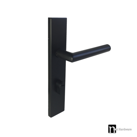5515 black entry handle set