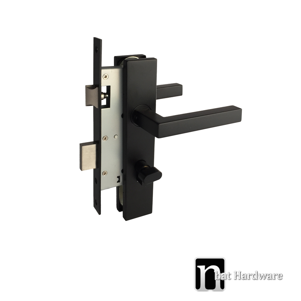 Matt Black Entrance Lock Dawson Series Nbat Hardware