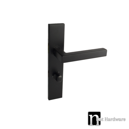 dawson black privacy handle with long plate
