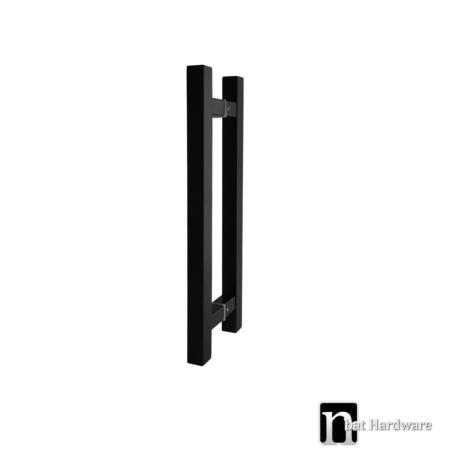 barron black door pull 400mm