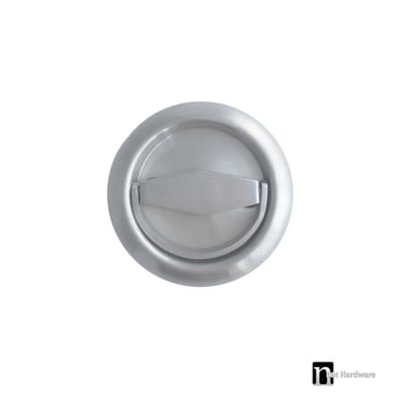 sliding flush pull ring