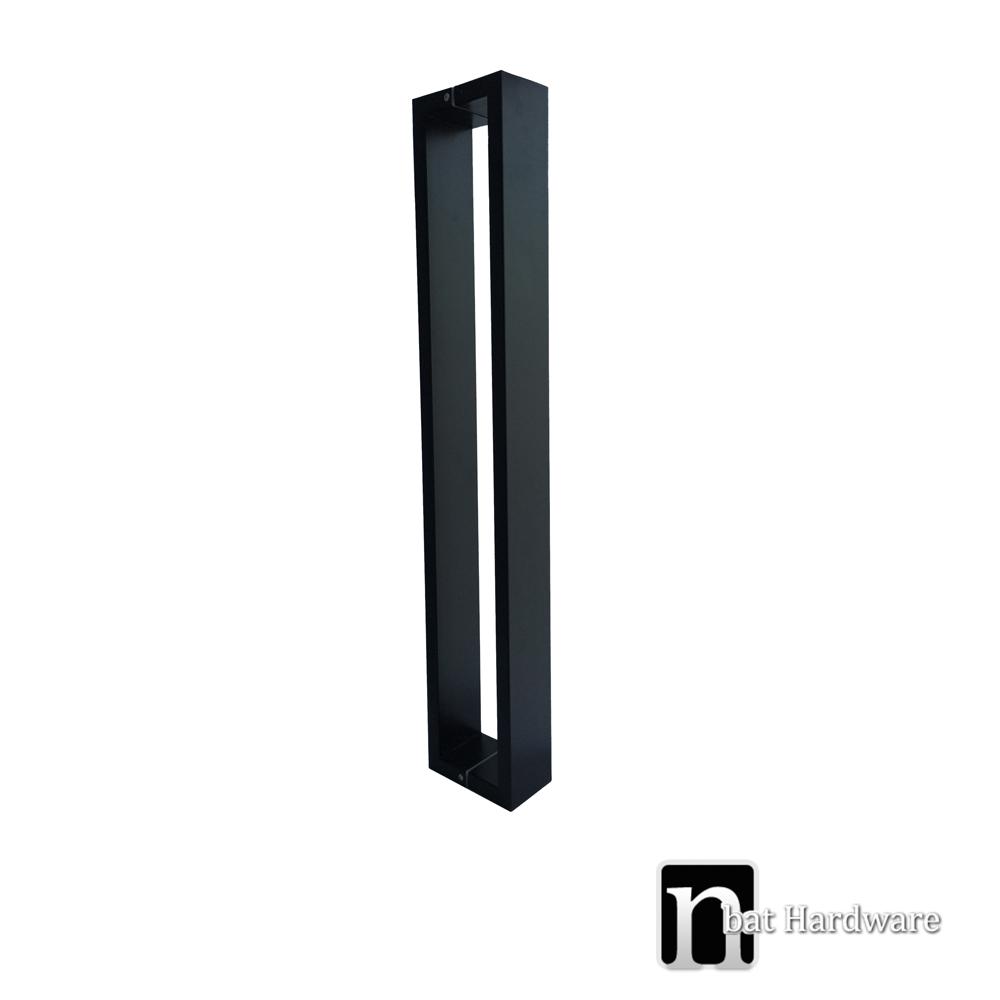 800mm matt black extra wide entry door pulls nbat hardware for 12 wide door