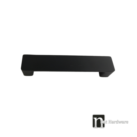 extra wide black kitchen handle
