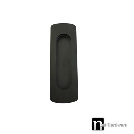 black sliding door flush pull