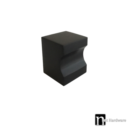 black square kitchen knob