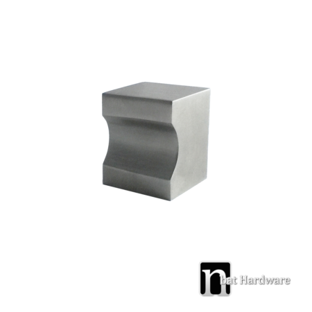 solid square kitchen knob