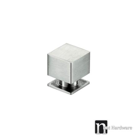 stainless steel square kitchen knob