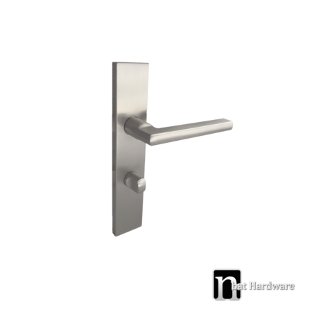 privacy handle with long rectangular face plate