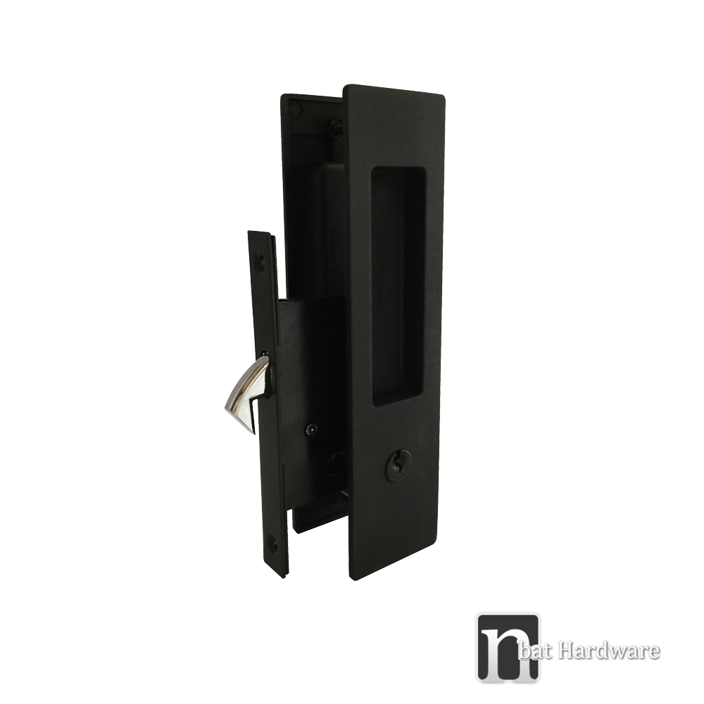 Matt Black Finish Sliding Door Handles Nbat Hardware