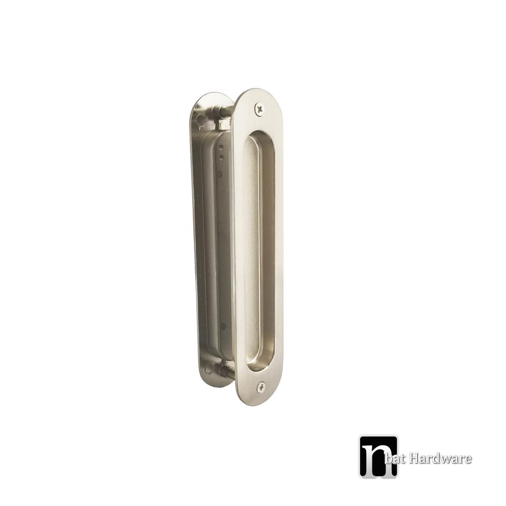 Back To Back Oval Sliding Flush Pulls Nbat Hardware