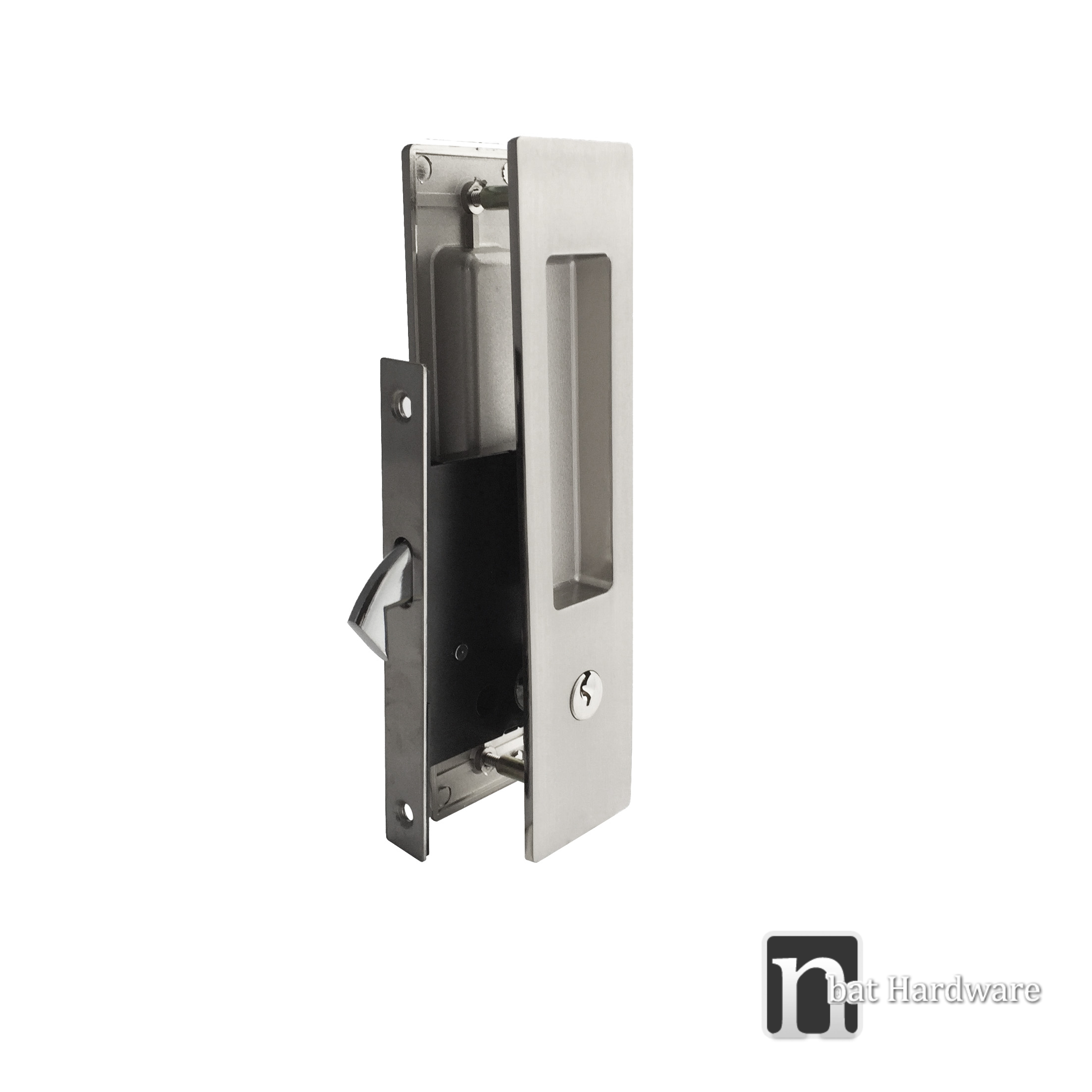 Morgan Series Sliding Door Key Lock Set Nbat Hardware