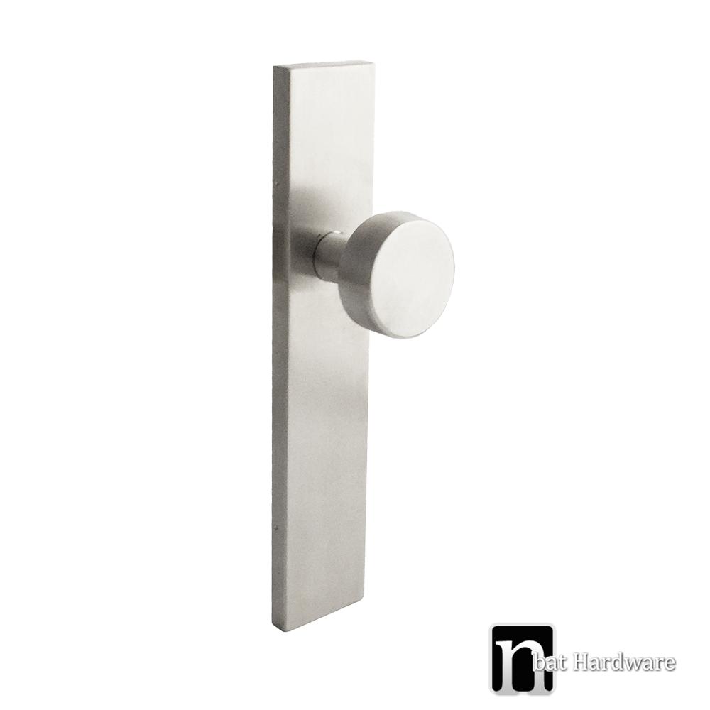 Rectangular Plate Door Handles | nBat Hardware