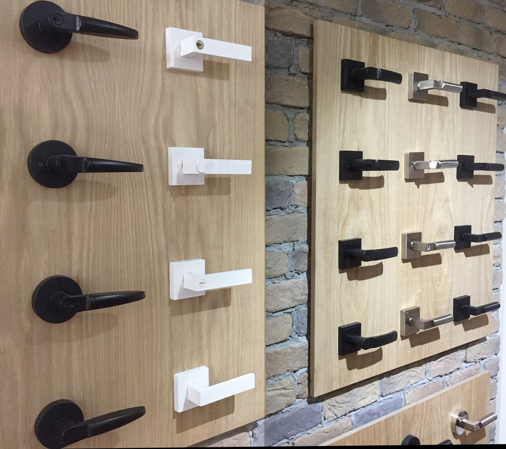 square pure white entrance lock deadbolt set nbat hardware. Black Bedroom Furniture Sets. Home Design Ideas
